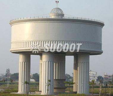 高架水塔工程:雲林科技工業區3000噸高架水塔工程
