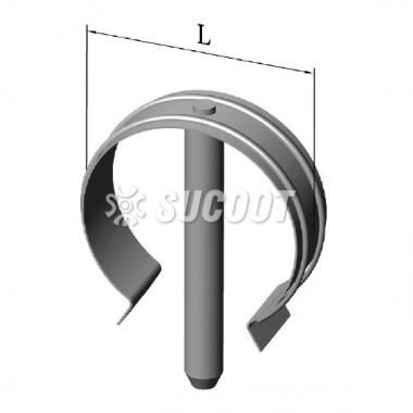 Omega-Clip Φ10mm×L:48mm  Φ12mm×L:70mm  Φ15mm×L:54mm