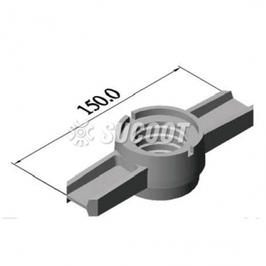Φ39mm Handle Nut Scaffold Assembly Components  - HN-16HS Model