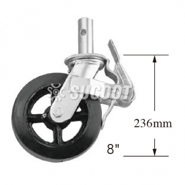 8 Inch Scaffold Caster and Locking Caster