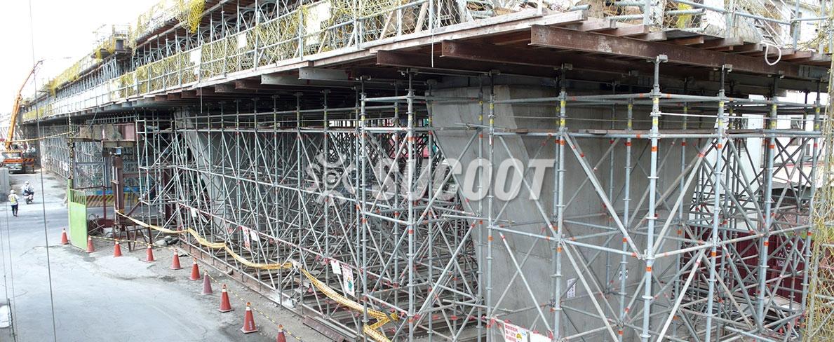 YCL-121 Yuanlin Viaduct Rail Bridge Projects at Taiwan
