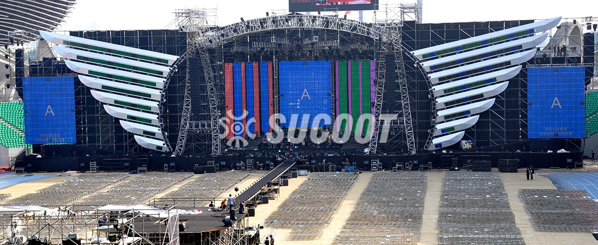 Stage Projects:Huimei Zhang Concert Stage