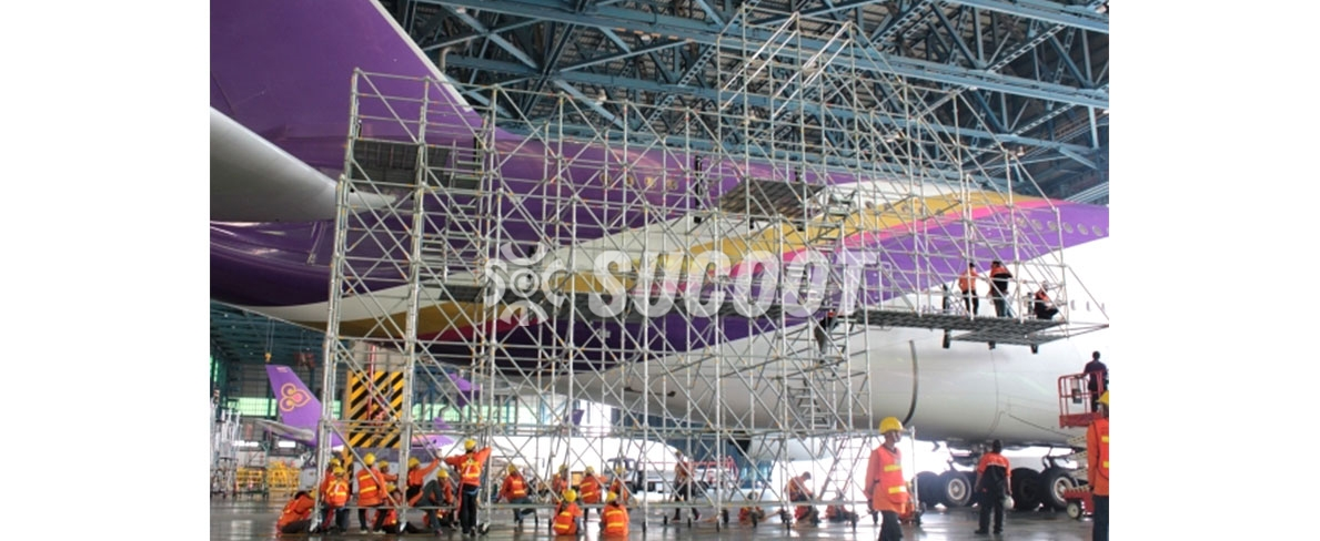 Thai Airline A380 Aircraft maintenance Project