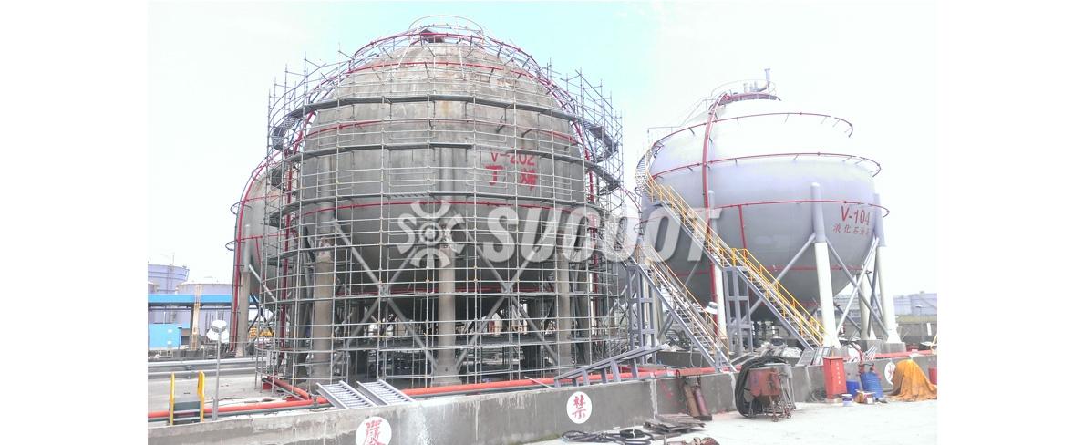 石化槽桶工程案例