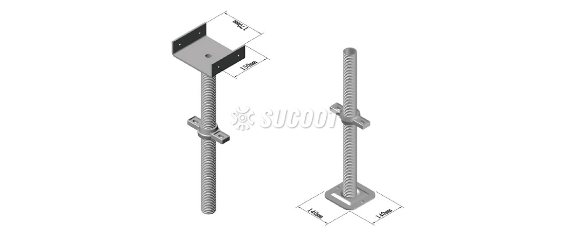 Scaffold Components - Screw Jack/Jack Base
